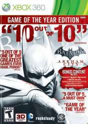 Batman Arkham City. GOTY - DLC Pack