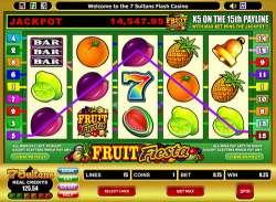 Классический игровой автомат Fruit Fiesta одарил игрока крупным выигрышем