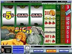Интернет игровой автомат, который перенесёт Вас на настоящую африканскую охоту